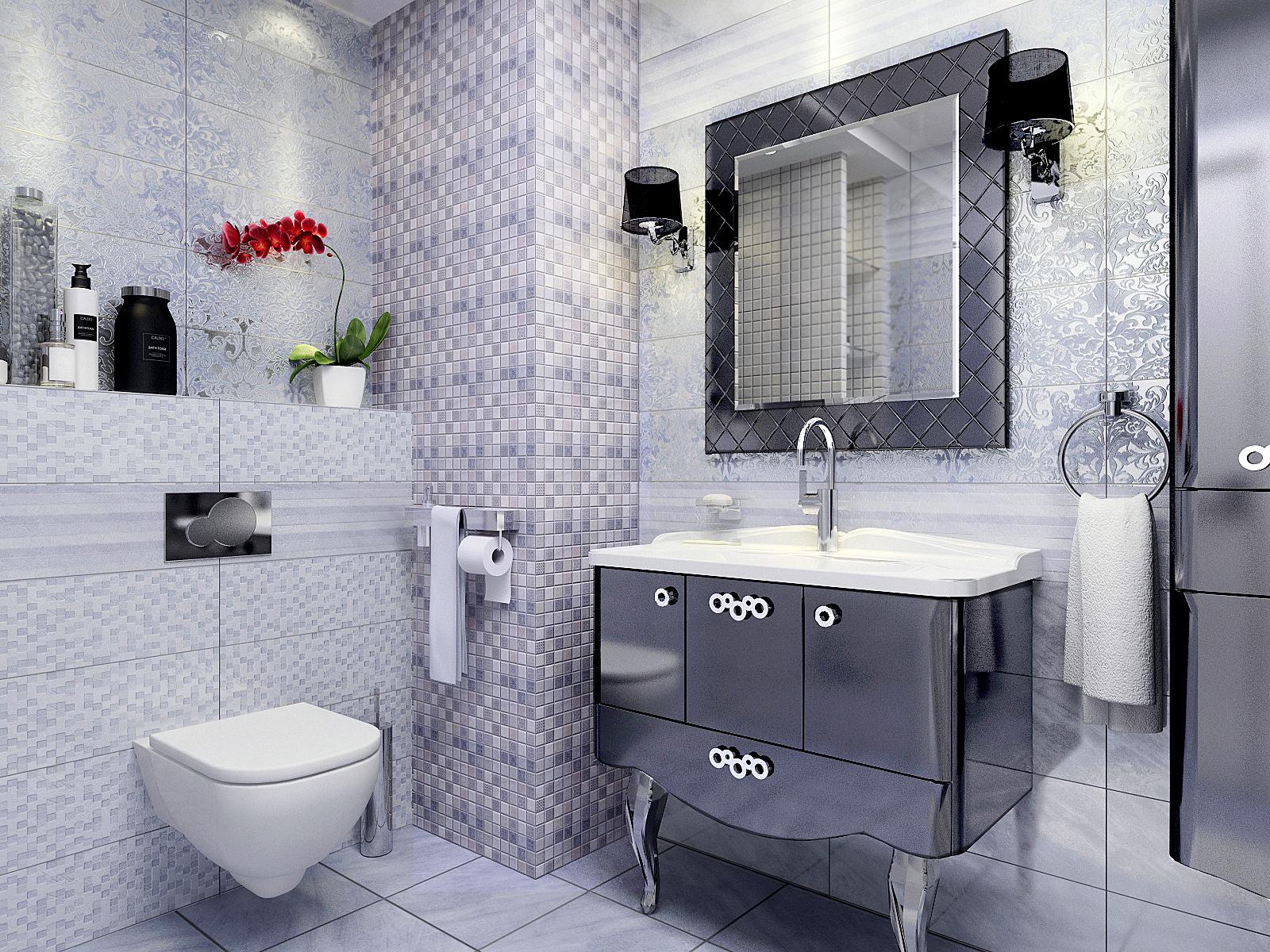 Декоративные элементы Керамическая плитка Атриум серая БЕЛЛЕЗА / BELLEZA: цвет - серый; размер плитки - 20x60 - Купить в интернет-магазине Мир Керамики