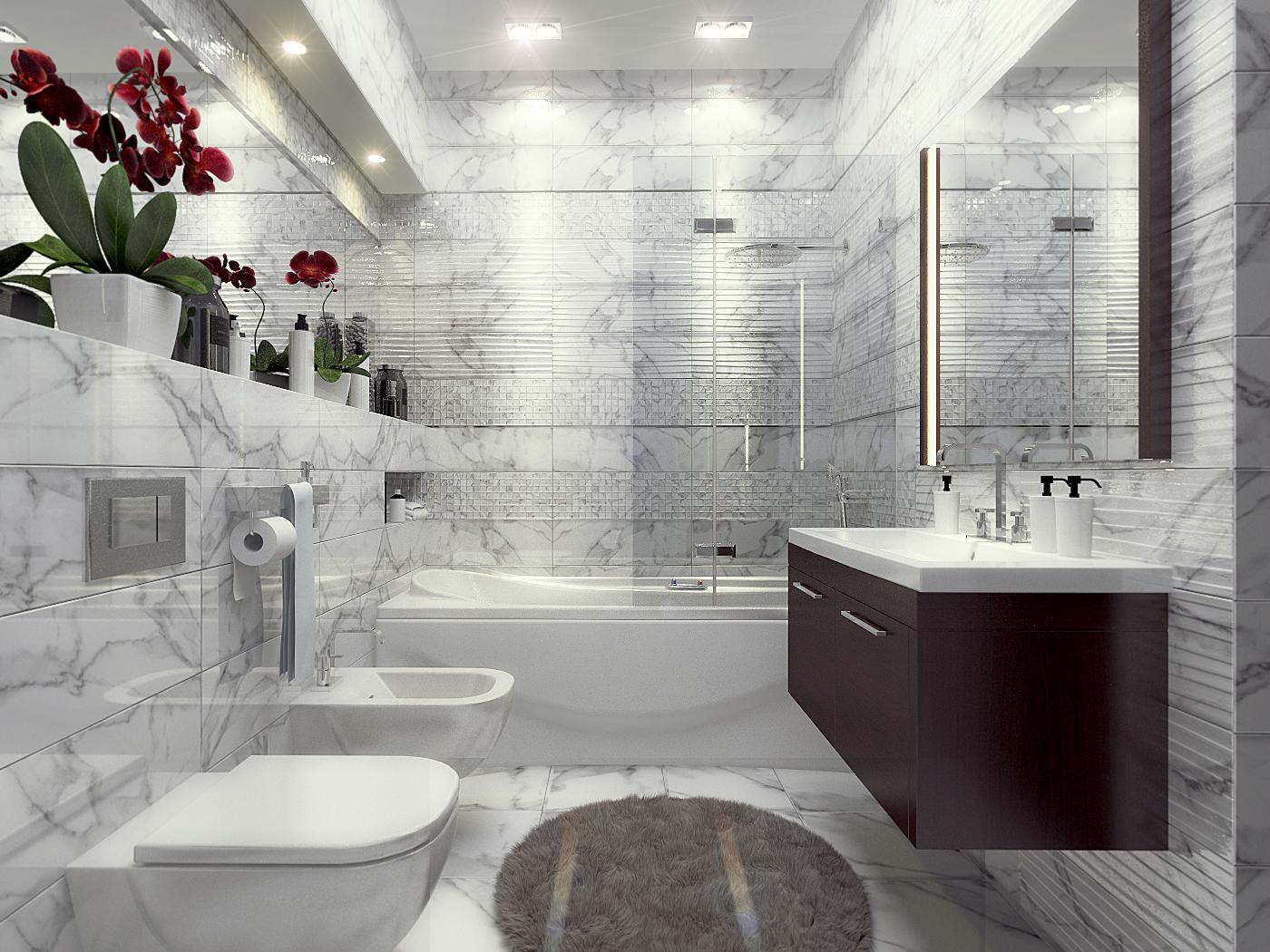 Плитка для ванной Керамическая плитка Калаката БЕЛЛЕЗА / BELLEZA: цвет - белый; размер плитки -  - Купить в интернет-магазине Мир Керамики