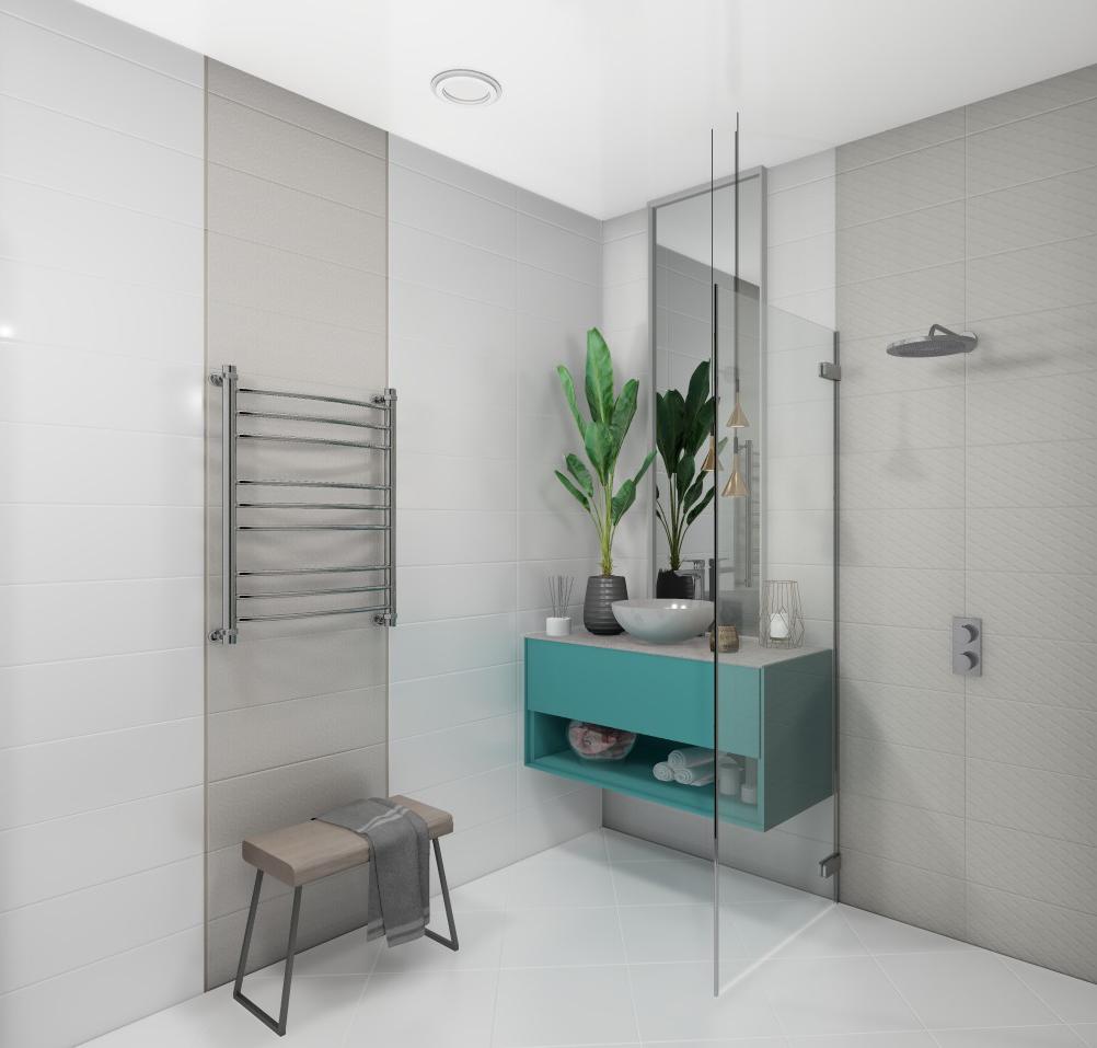 Плитка для ванной Керамическая плитка Урбан БЕЛЛЕЗА / BELLEZA: цвет - бежевый; размер плитки - 20x60 - Купить в интернет-магазине Мир Керамики