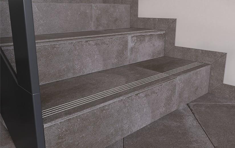 Плитка для ванной Керамогранит Lofthouse / Лофтхаус Cersanit: цвет - темно-серый; размер плитки -  - Купить в интернет-магазине Мир Керамики