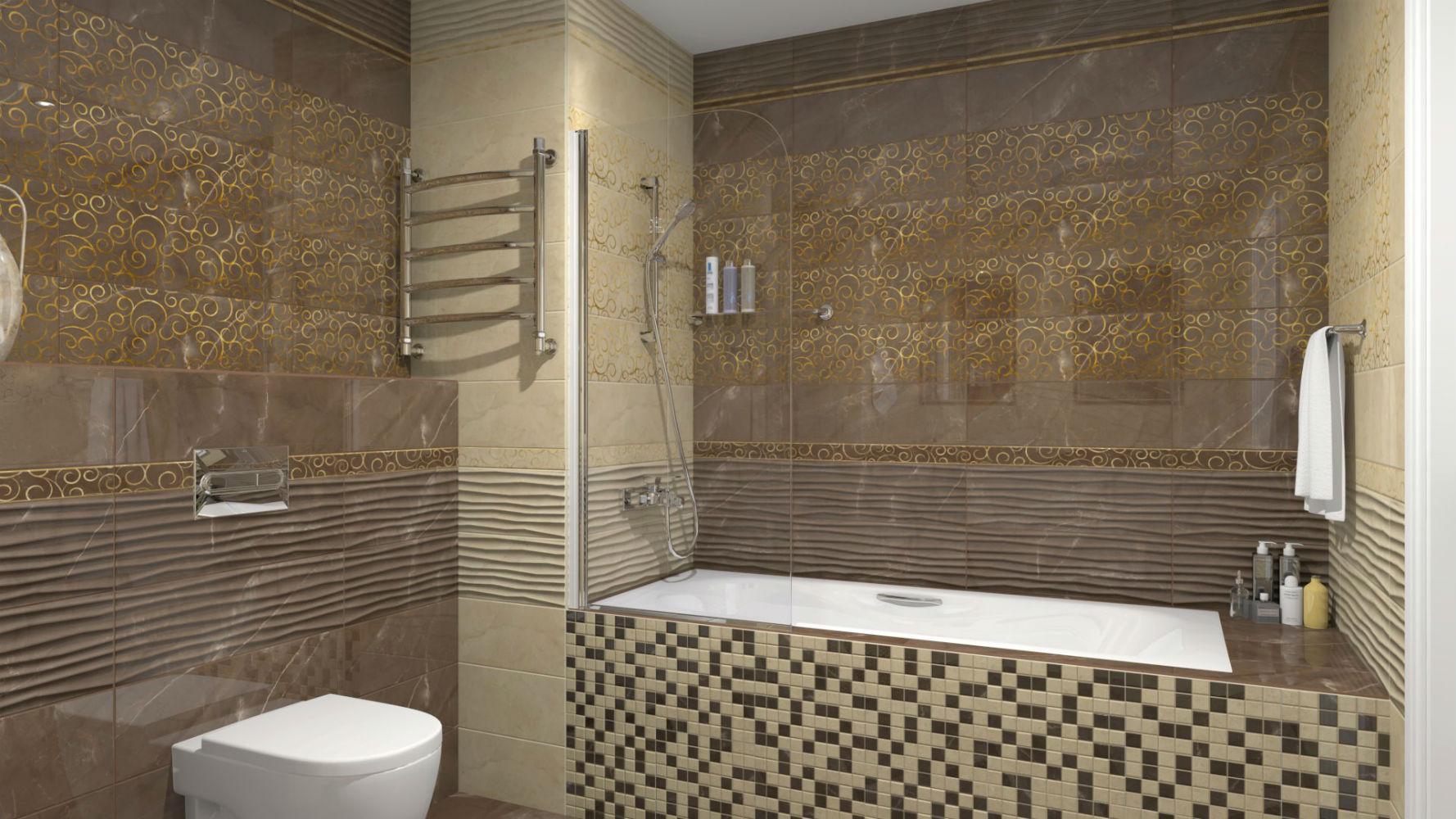 плитка для ванной комнаты купить в москве