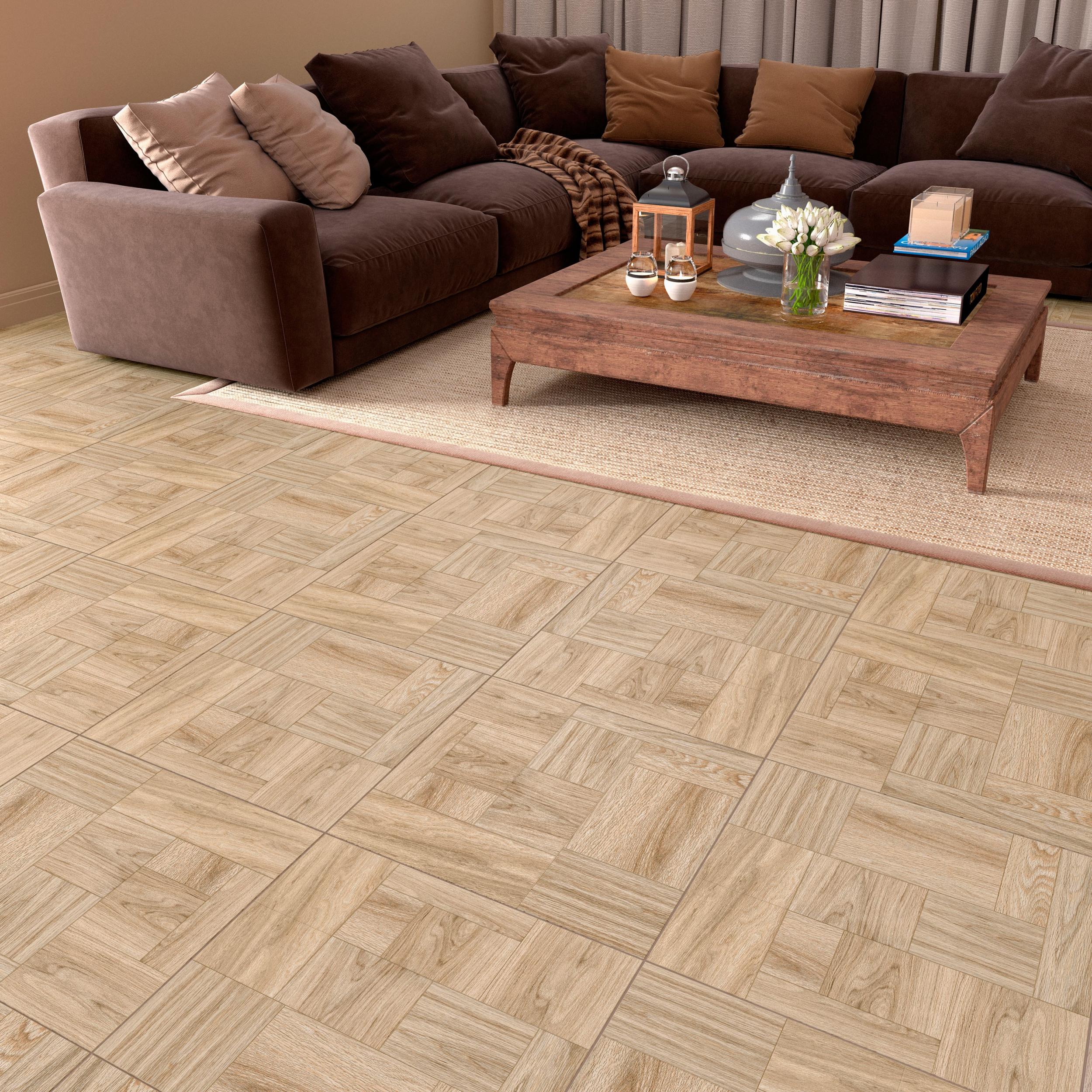 Плитка для пола Керамогранит Ривер Вуд / River Wood LB-CERAMICS: цвет - белый; размер плитки - 45x45 - Купить в интернет-магазине Мир Керамики